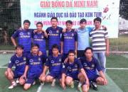 Tham gia Giải bóng đá mini nam cán bộ, giáo viên và CNVCLĐ
